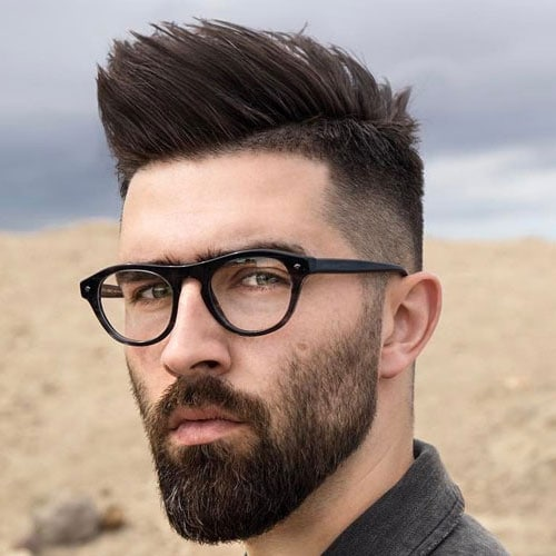 Mohawk with Beard