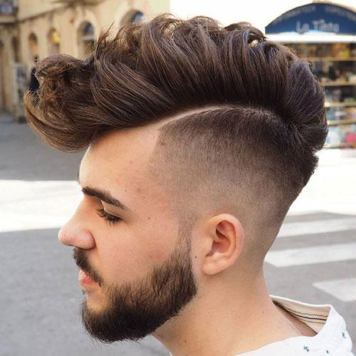 Skin Fade Mohawk Haircut