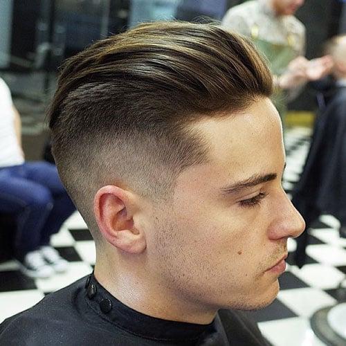 Undercut Mid Fade Haircut