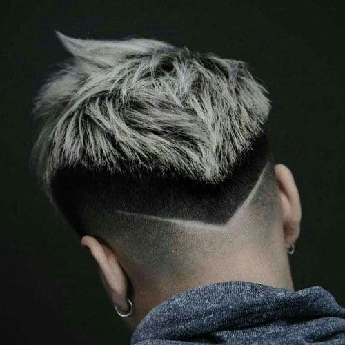 V Fade Haircut