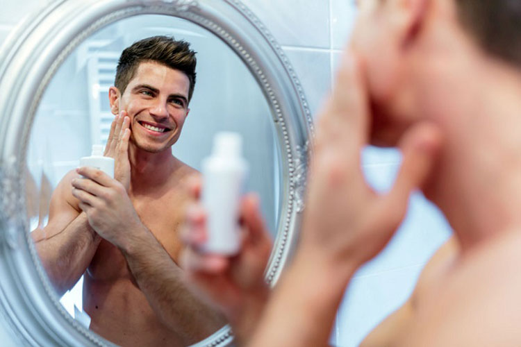 Apply An After-Shave Product