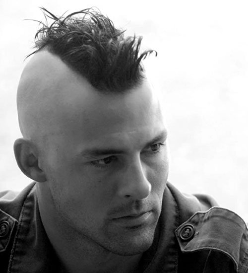 Mohawk with Shaved Sides