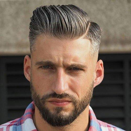 Short Hair with Beard