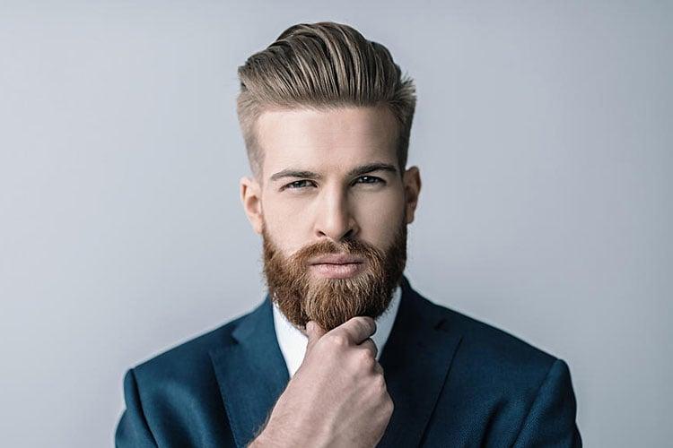 Straight Hair Men