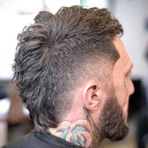 Wavy Hair Mohawk