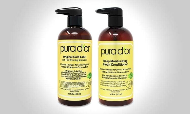 Pura D'Or Original Gold Label Anti-Thinning Shampoo