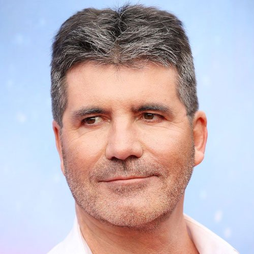 Simon Cowell's Flat Top