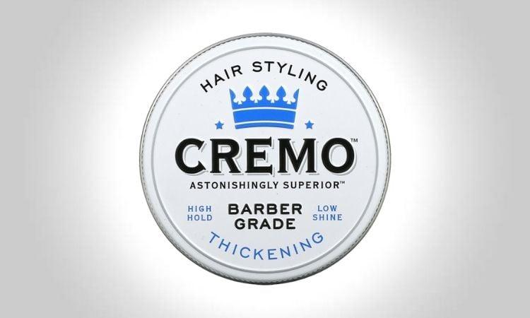 Cremo Premium Barber Grade Hair Styling Thickening Paste
