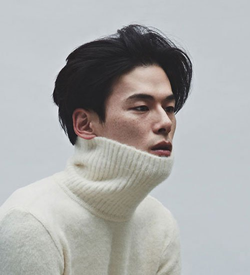 Long Two Block Hairstyles For Asian Men