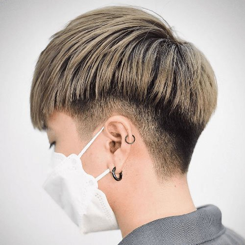 Two Block Fade Haircut